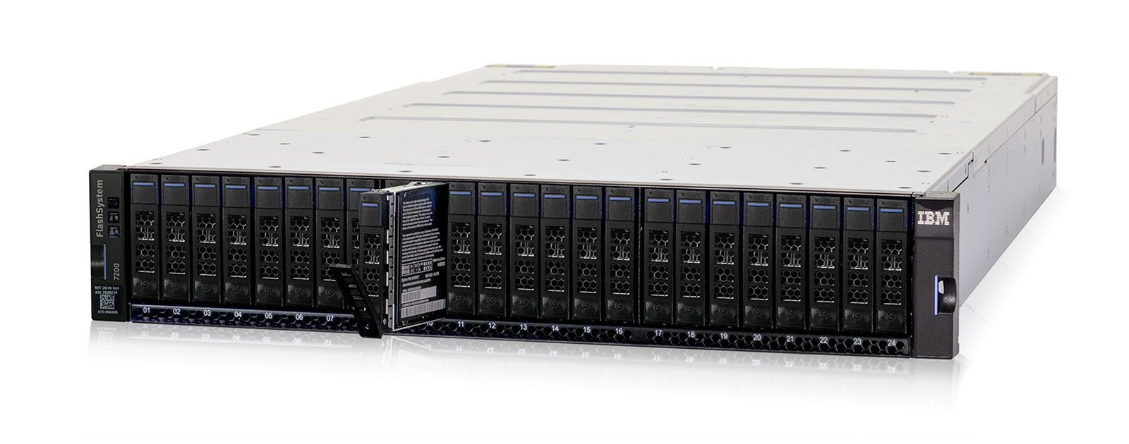 IBM FlashSystem 7200 all-flash tároló
